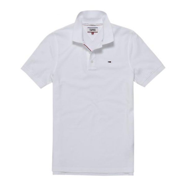 TOMMY JEANS ORIGINAL FINE PIQUE POLO DM0DM04266-100