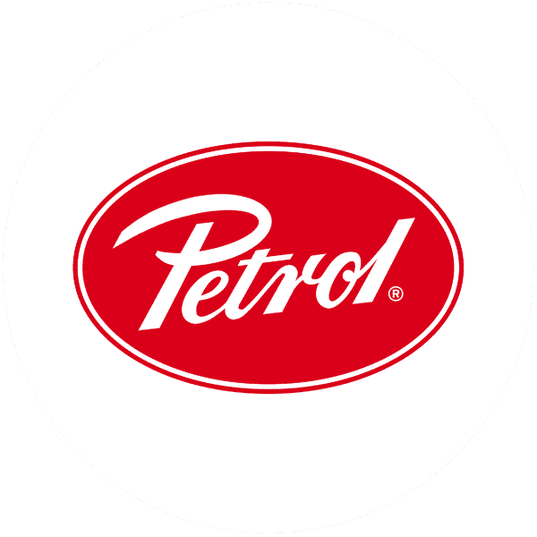 Stripes Logo petrol