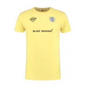 Black-Bananas-F.C.-Basic-T-shirt-geel